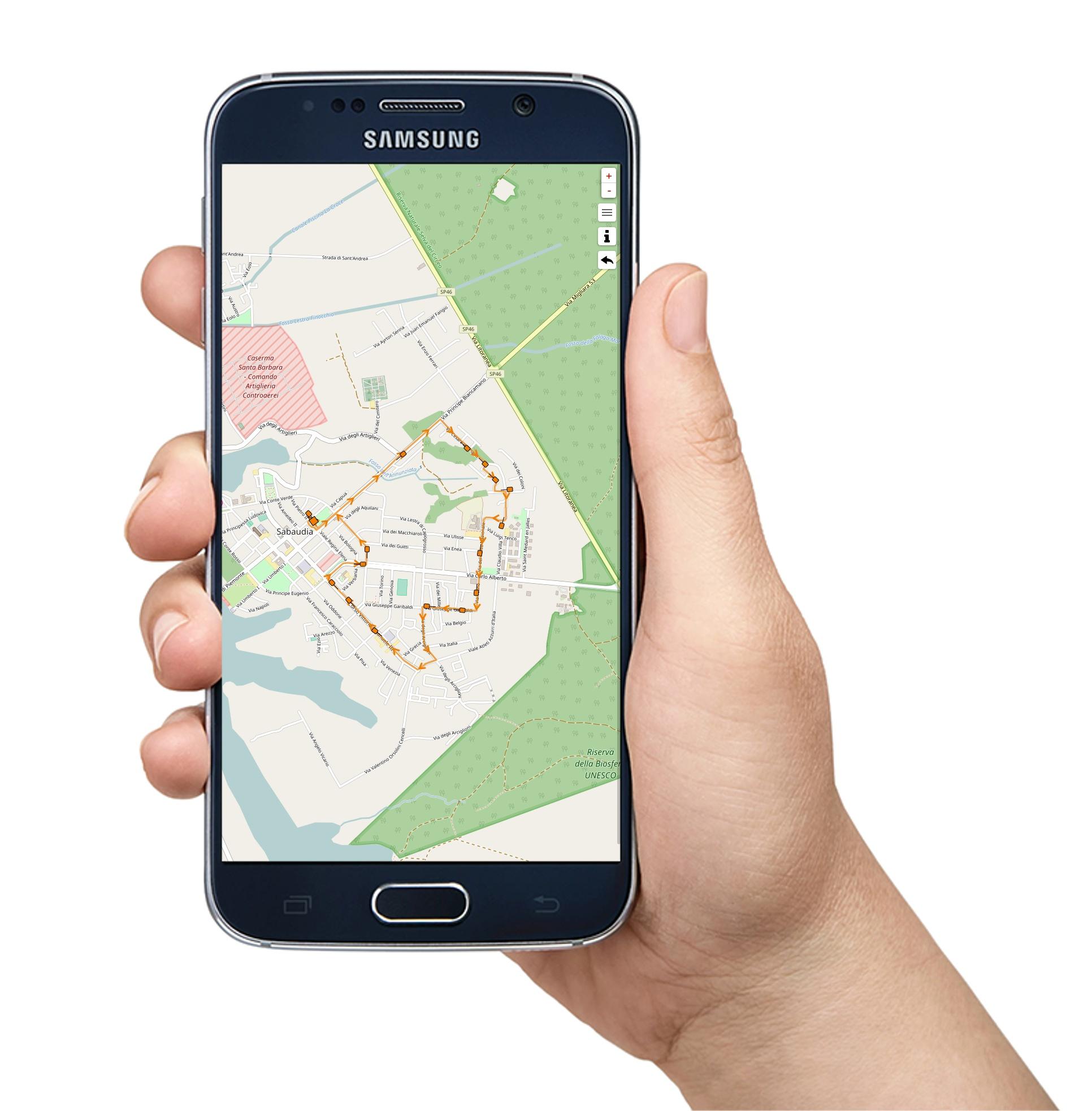 Nella app di QuandoPassa tutte le mappe dei percorsi degli autobus e delle fermate