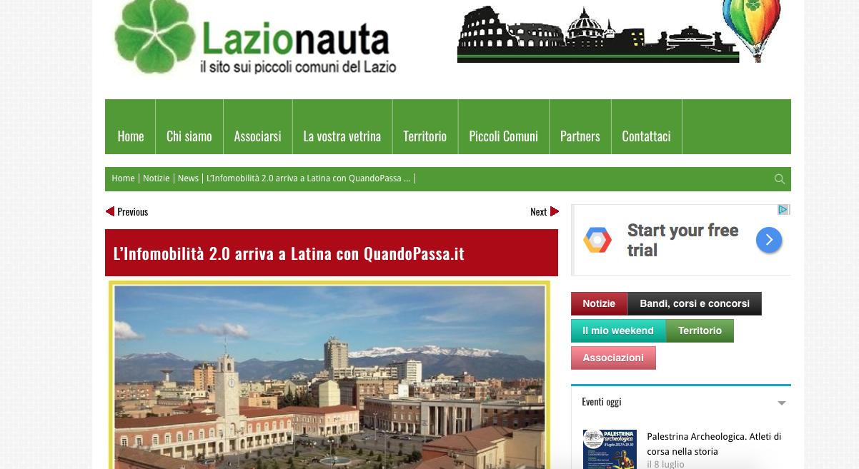 trasporto pubblico latina